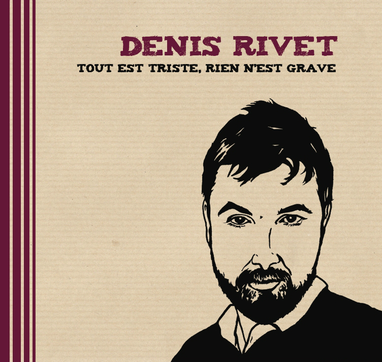 POCHETTE ALBUM DENIS RIVET