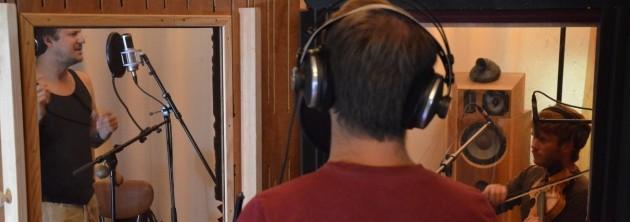 Les Enfants du Bal enregistrent un CD à la Grange