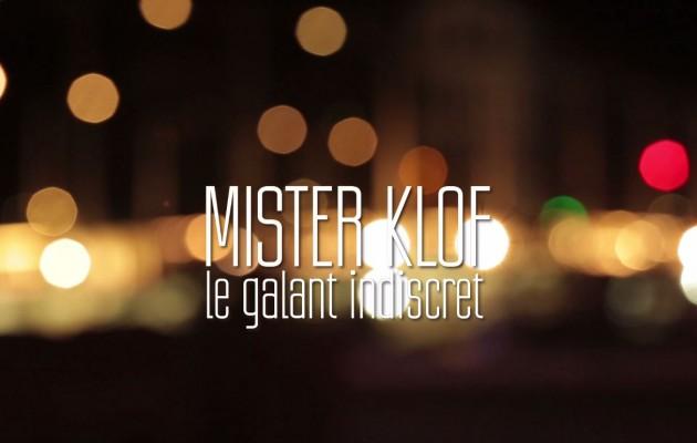 Nouveau CD de Mister Klof: «le galant indiscret»