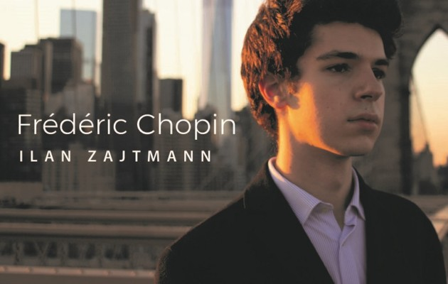 "Février 2021: Sortie officielle du CD ""Frédéric CHOPIN"" d'Ilan Zajtmann"